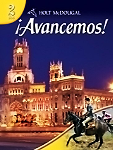 9780554025322: Holt McDougal Avancemos! Level 2: dos (Spanish and English Edition)