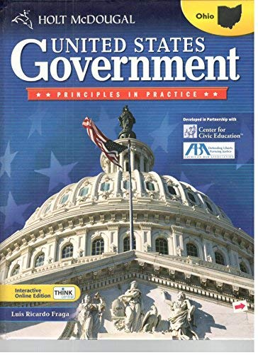 Holt McDougal United States Government: Principles in Practice 2010: Student Edition 2010: MCDOUGAL...
