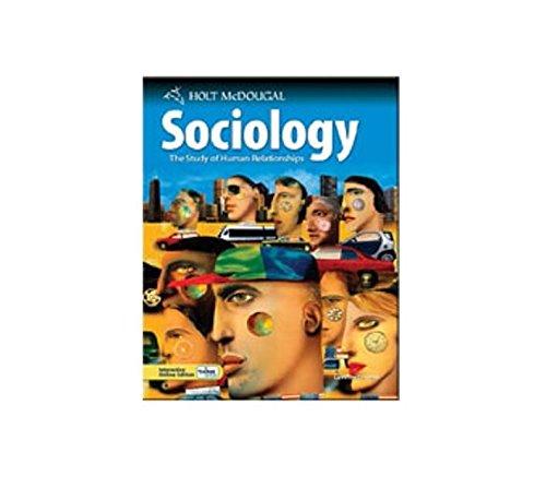 9780554028552: Holt McDougal Sociology: The Study of Human Relationships: Teacher Management System