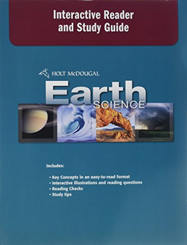 9780554033419: Holt McDougal Earth Science: Interactive Reader and Study Guide