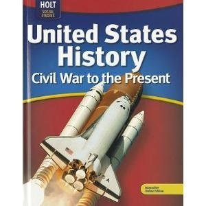 9780554033440: Holt McDougal United States History Virginia: Student Edition Grades 6-9 Civil War to the Present 2011