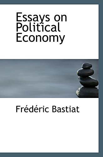 9780554042367: Essays on Political Economy