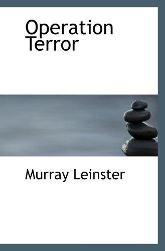 9780554060897: Operation Terror