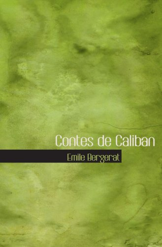 9780554061443: Contes de Caliban