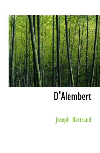9780554063072: D'Alembert