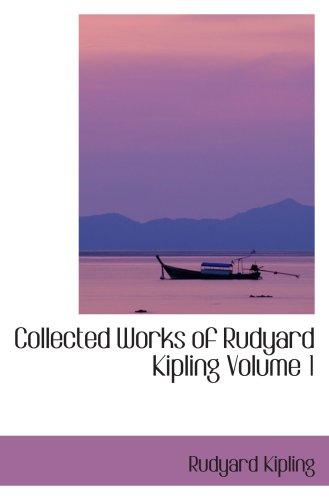 9780554067117: Collected Works of Rudyard Kipling Volume 1