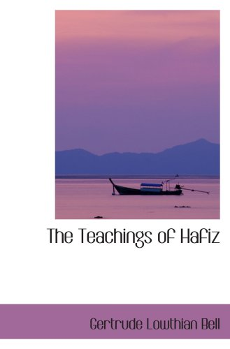 9780554092799: The Teachings of Hafiz