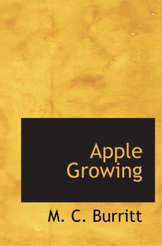 9780554095325: Apple Growing