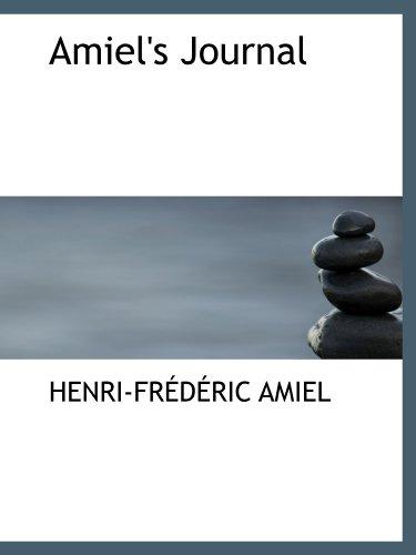 9780554121857: Amiel's Journal