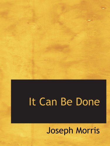 9780554128177: It Can Be Done: Poems of Inspiration