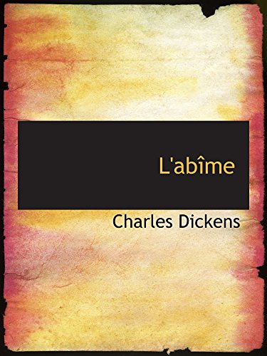 9780554168548: L'abîme (French Edition)