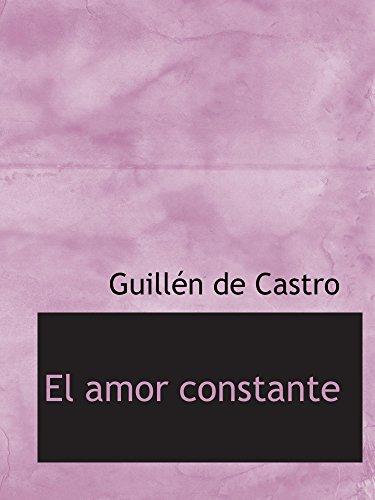 9780554180960: El amor constante (Spanish Edition)