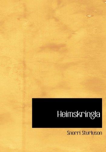 9780554214726: Heimskringla (Large Print Edition)