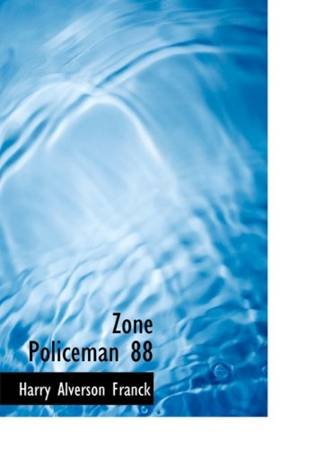 9780554221168: Zone Policeman 88 (Large Print Edition)