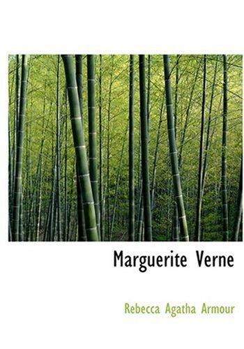 9780554238272: Marguerite Verne (Large Print Edition)