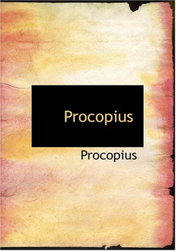 9780554259291: Procopius (Large Print Edition)