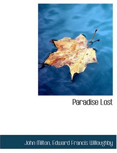 9780554263755: Paradise Lost (Large Print Edition)
