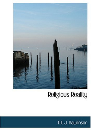 9780554277370: Religious Reality (Large Print Edition)