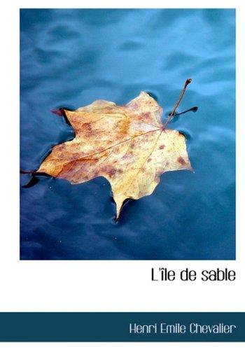 9780554284040: L'Ile de Sable