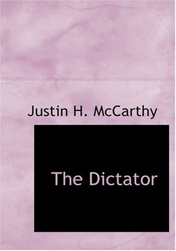 9780554298221: The Dictator (Large Print Edition)