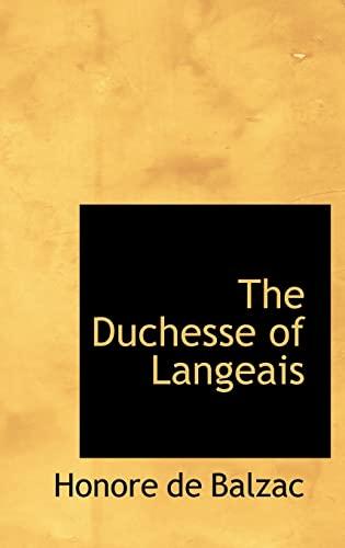 9780554310176: The Duchesse of Langeais