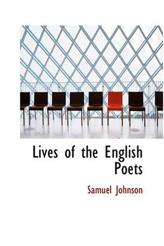 9780554312132: Lives of the English Poets
