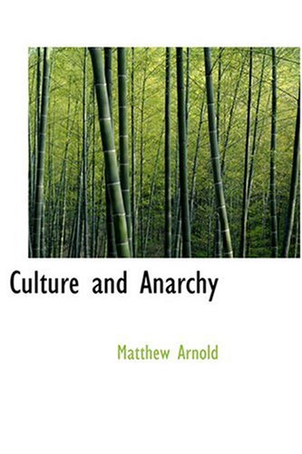 9780554313399: Culture and Anarchy