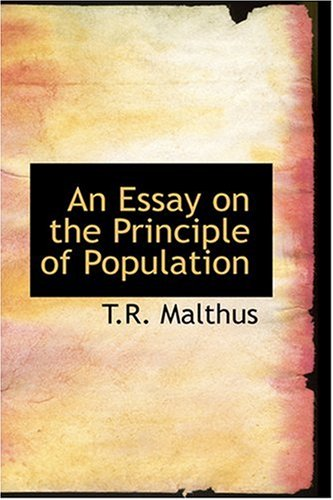 9780554313429: An Essay on the Principle of Population