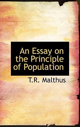 thomas robert malthus an essay on the principles of population
