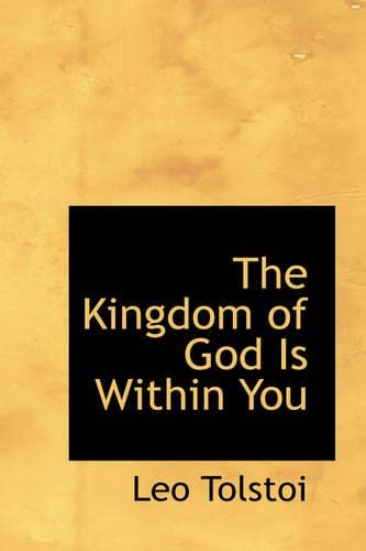 9780554313832: The Kingdom of God Is Within You