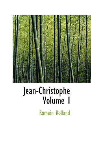 9780554319209: Jean-Christophe Volume I