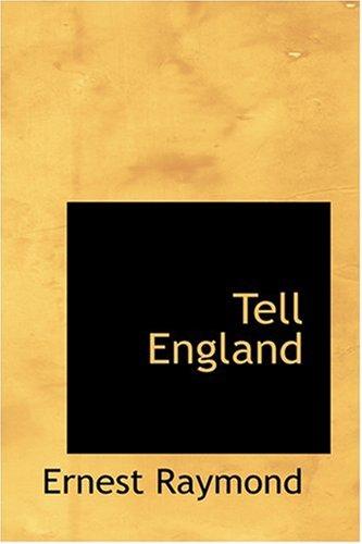 Tell England (0554344971) by Raymond, Ernest