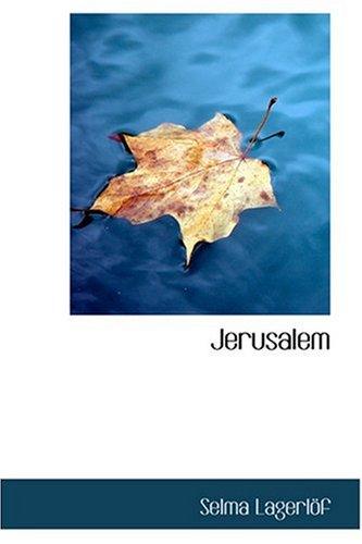 9780554347387: Jerusalem