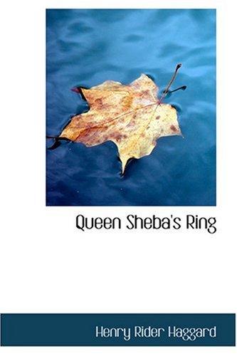 9780554353647: Queen Sheba's Ring