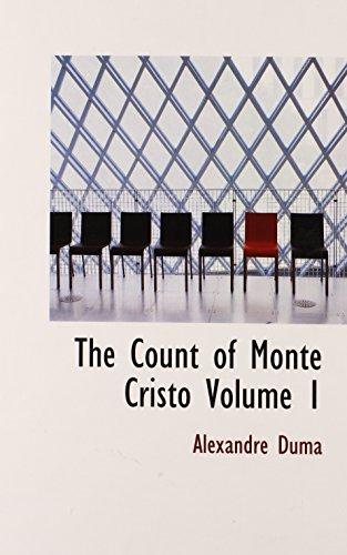 9780554354071: The Count of Monte Cristo Volume 1
