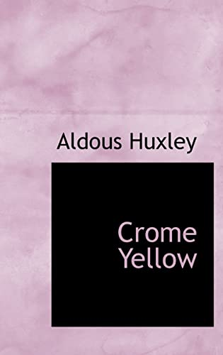 9780554360386: Crome Yellow