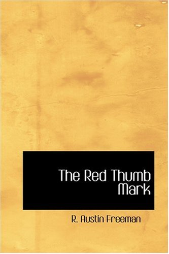 9780554362625: The Red Thumb Mark