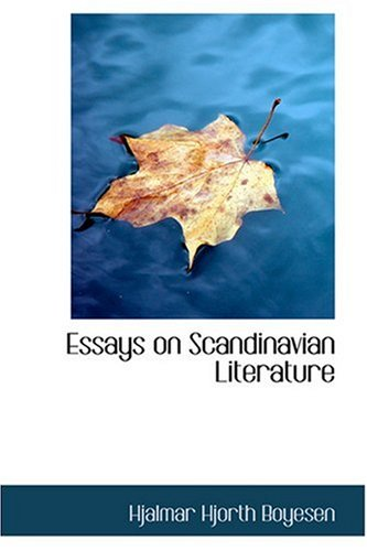 9780554368160: Essays on Scandinavian Literature