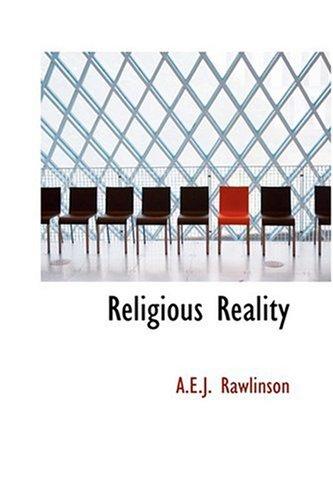 9780554370408: Religious Reality