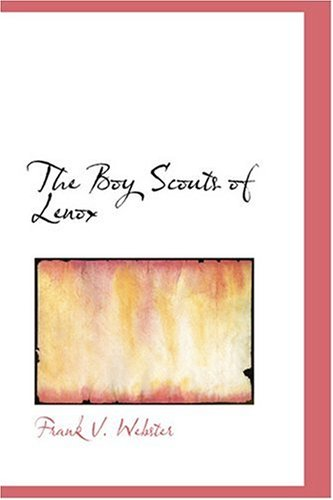9780554372822: The Boy Scouts of Lenox
