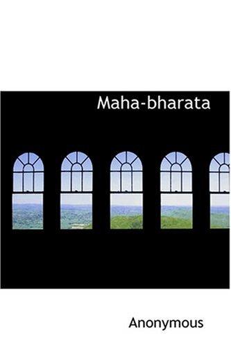 9780554383842: Maha-bharata