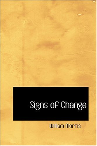 Signs of Change (055438793X) by Morris, William