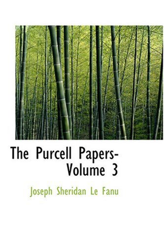 9780554389028: The Purcell Papers- Volume 3