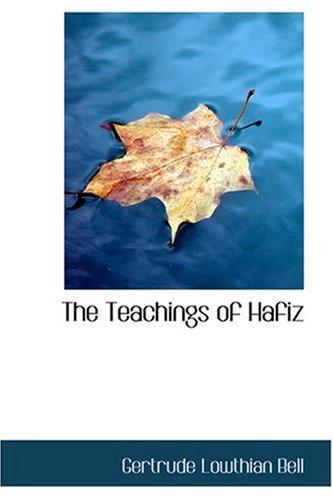 9780554394992: The Teachings of Hafiz