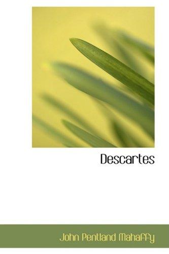 9780554428123: Descartes