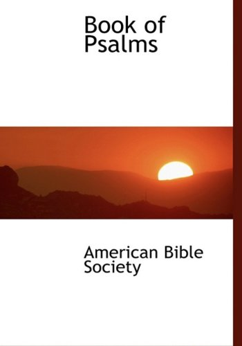 9780554446936: Book of Psalms (Large Print Edition)