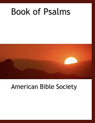 9780554446967: Book of Psalms