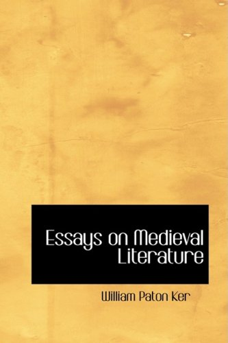 9780554456157: Essays on Medieval Literature