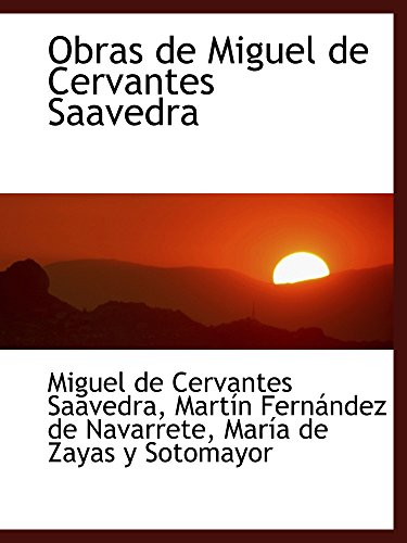 9780554468006: Obras de Miguel de Cervantes Saavedra (Portuguese Edition)
