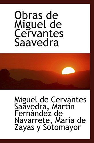9780554468044: Obras de Miguel de Cervantes Saavedra (Portuguese Edition)